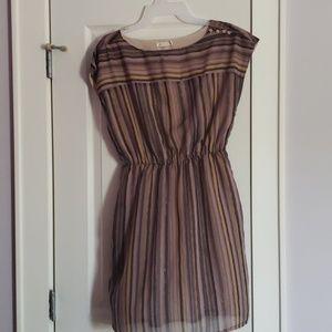 Tulle Brown Dress Medium